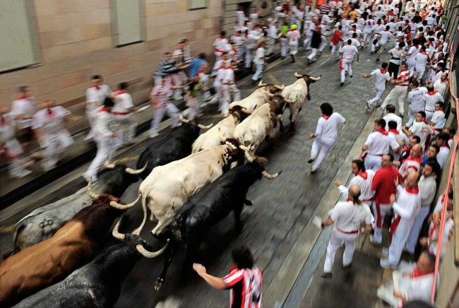 The Complete History of Running of the Bulls - Bucket List ...