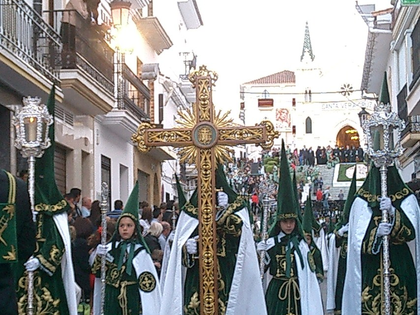 Malaga: It takes a bit of getting used to, but Las Procesiones during Semana Santa are as scary as a Santa Claus parade.